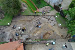 Third Roman temple in Silchester may have been part of emperor's vanity project