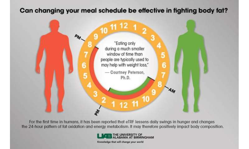 Time-restricted feeding study shows promise in helping people shed body fat
