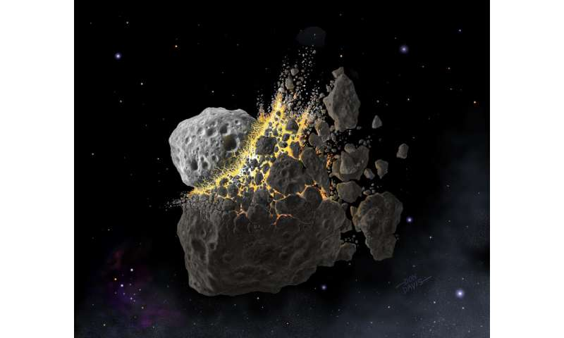 Today's rare meteorites were once common