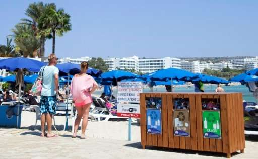 Tourism and waste management experts say waste output per person in Cyprus is heavily inflated by tourist arrivals