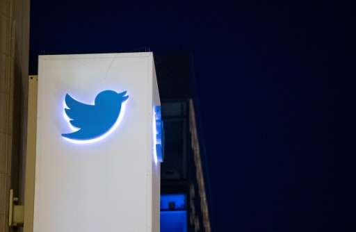 Twitter, whose logo is seen here at its San Francisco headquarters, has eliminated the egg icon often associated with online &qu