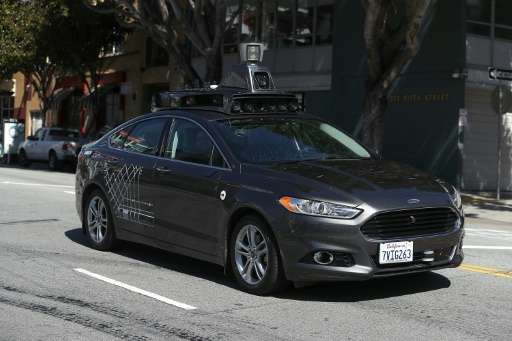 Uber is among the companies testing self-driving cars
