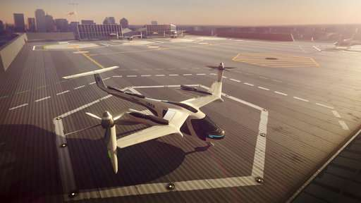 Uber reaches for the skies with plan for sleek flying taxi
