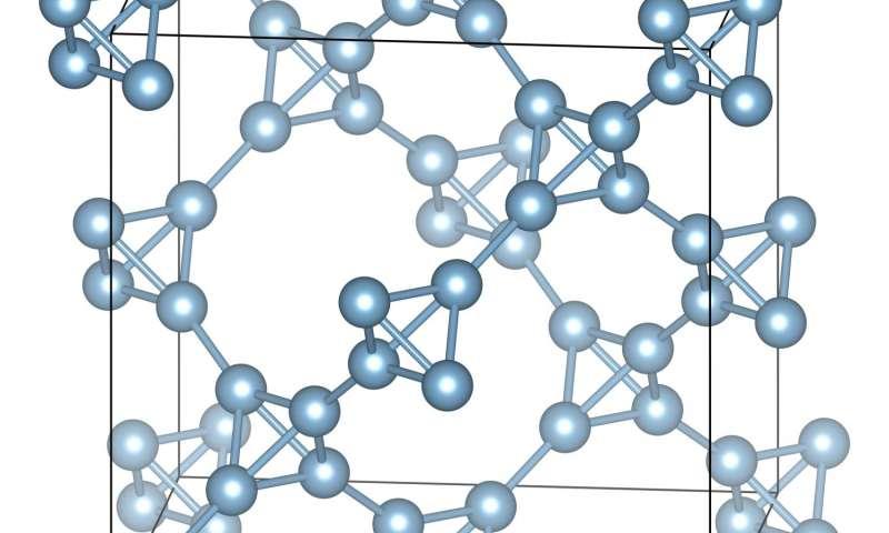Ultra-light aluminum: chemists report breakthrough in material design