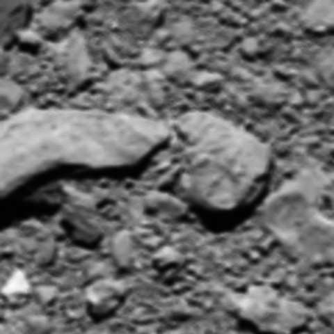 Unexpected surprise: A final image from Rosetta