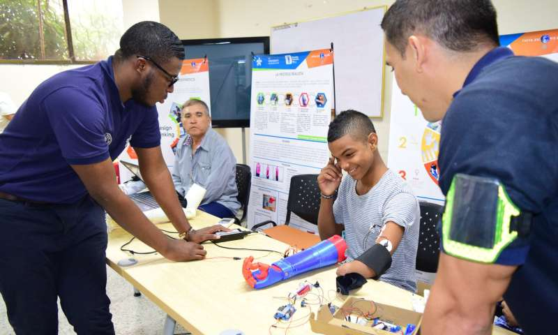 URI engineering project brings joy to amputees in Colombia