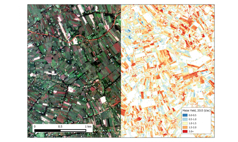 Using high-resolution satellites to measure African farm yields