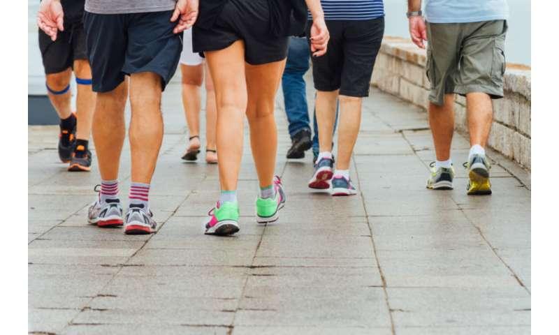 U.S. lagging in walking, walkable community development
