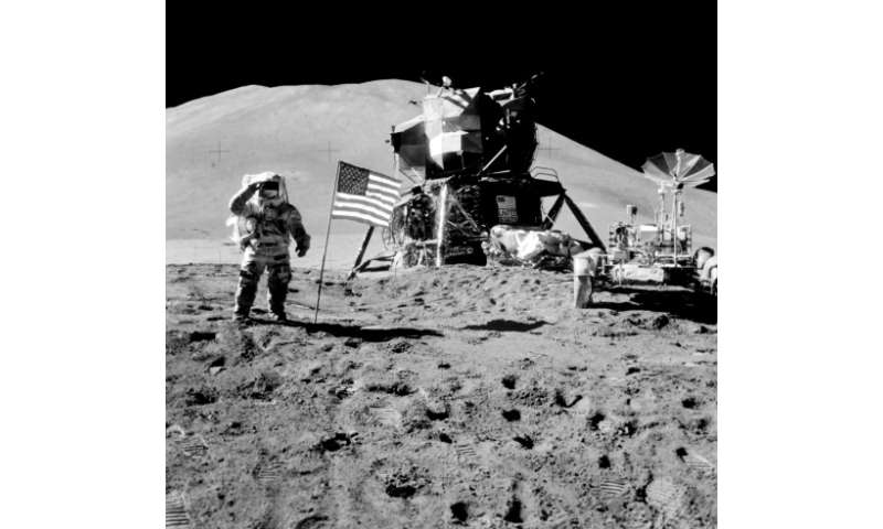 US Vice President Mike Pence vowed to put astronauts on the Moon for the first time since the Apollo missions of the 1960s and 1