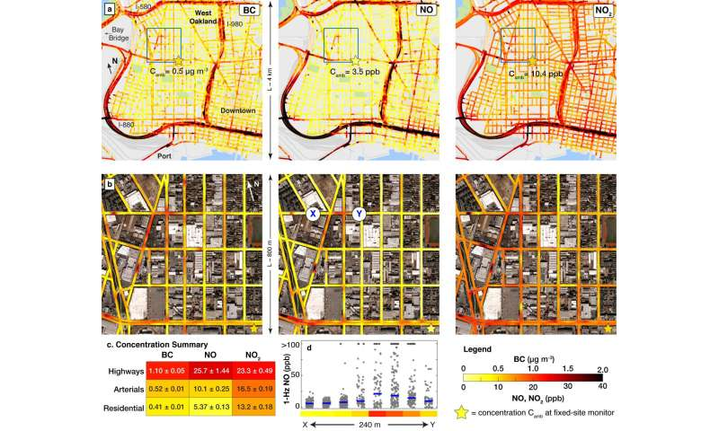 UT Austin, Environmental Defense Fund, Google and Aclima unveil new hyper-local air pollution map