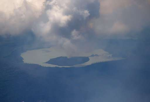 Vanuatu orders evacuation of island with rumbling volcano
