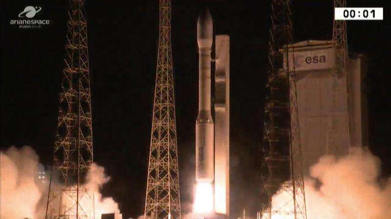 Vega Lofts Two Satellites On Second Launch This Year