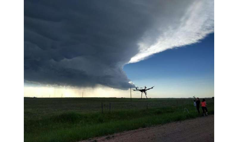 VIDEO: High-flying, eye-popping drones gather data from storms