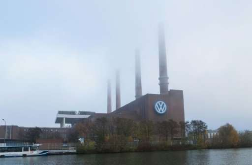 Volkswagen, whose main administrative building is seen in Wolfsburg, Germany, is pivoting to zero-emissions cars in a bid to cat