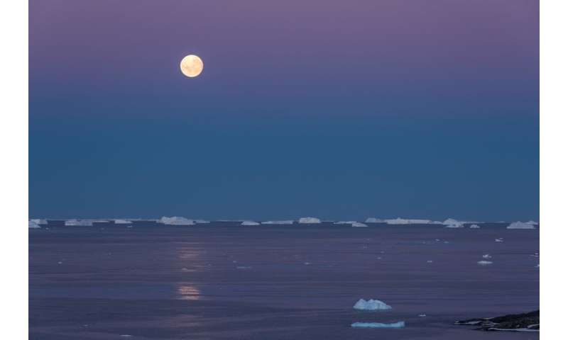 Warm waters melting Antarctic ice shelves may have appeared for the first time in over 7,000 years