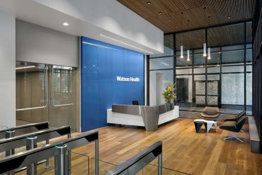 Watson Health, whose Cambridge, Massachusetts office is shown in this photo, is also part of the artificial intelligence health