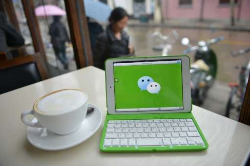 WeChat, known as Weixin in China, was launched in 2011 and is the world's most popular messaging service