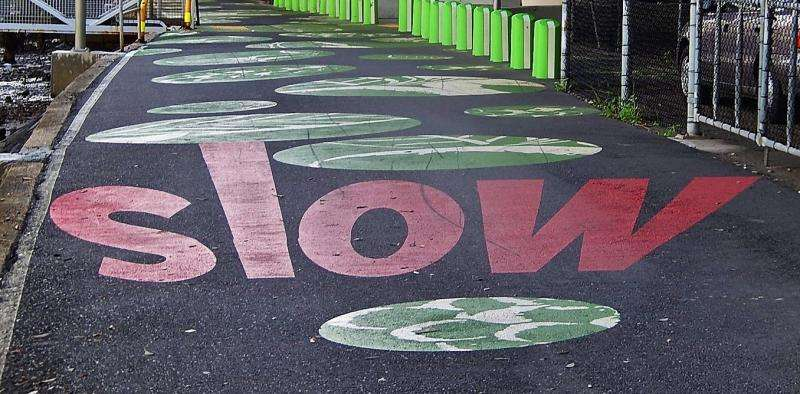 We should create cities for slowing down