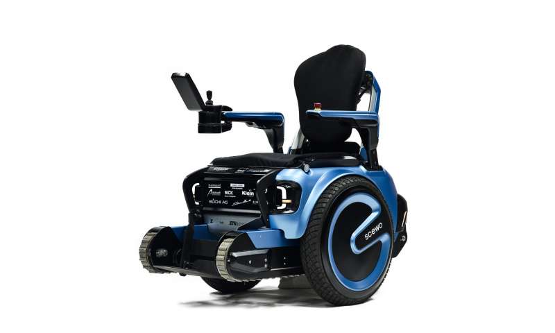 When wheelchair design can take many steps up