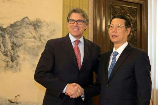While California Governor Jerry Brown was granted an audience with Chinese President Xi Jinping, US Energy Secretary Rick Perry
