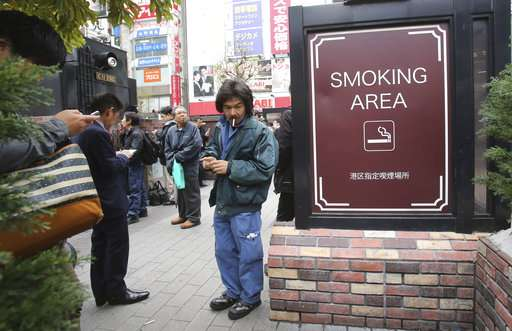 WHO: Japan needs anti-smoking law ahead of Tokyo Olympics