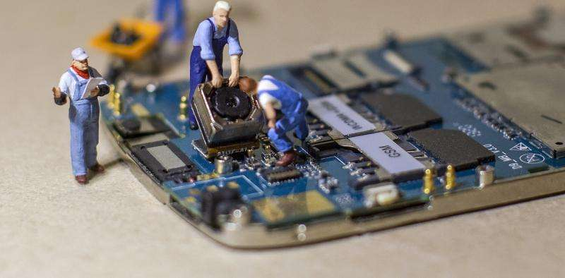 Why can't we fix our own electronic devices?