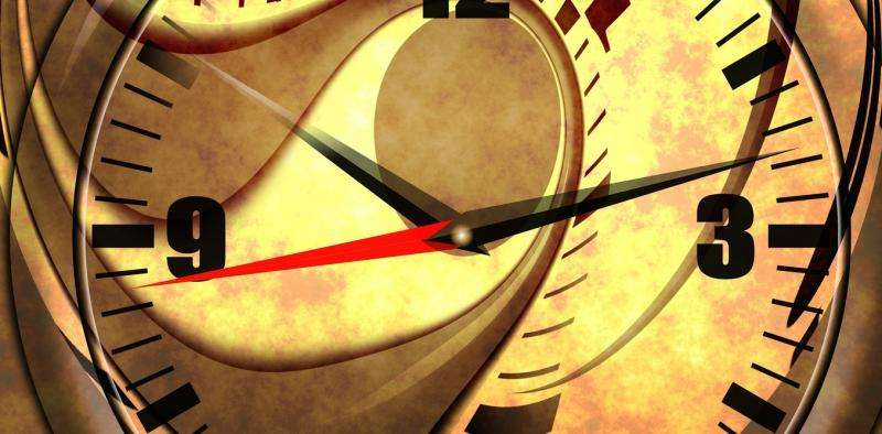 Why time seems to fly – or trickle –by