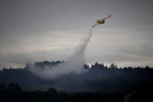Wildfires have hit southern France, which has experienced an especially dry summer