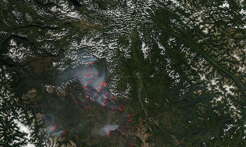 Wildfires still plaguing British Columbia, Canada
