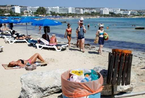 With more visitors heading to Cyprus than ever, the Mediterranean island's waste disposal system is under pressure