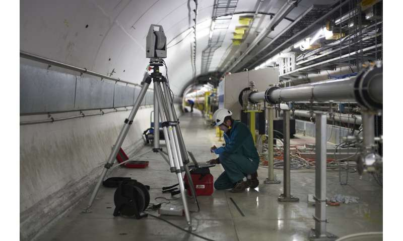 Xenon in the Super Proton Synchrotron—first tests for a photon factory
