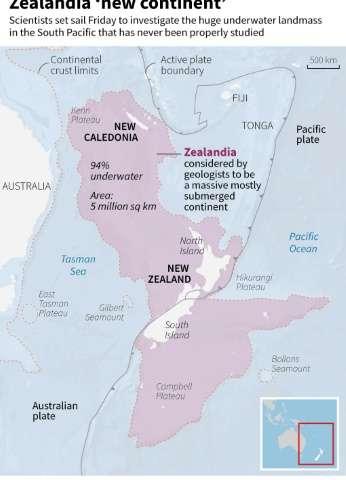 Zealandia 'new continent'