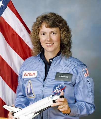1st of Christa McAuliffe's lost lessons released from space
