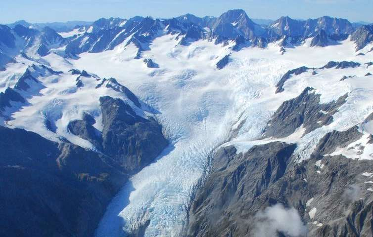 A bird's eye view of changing glaciers