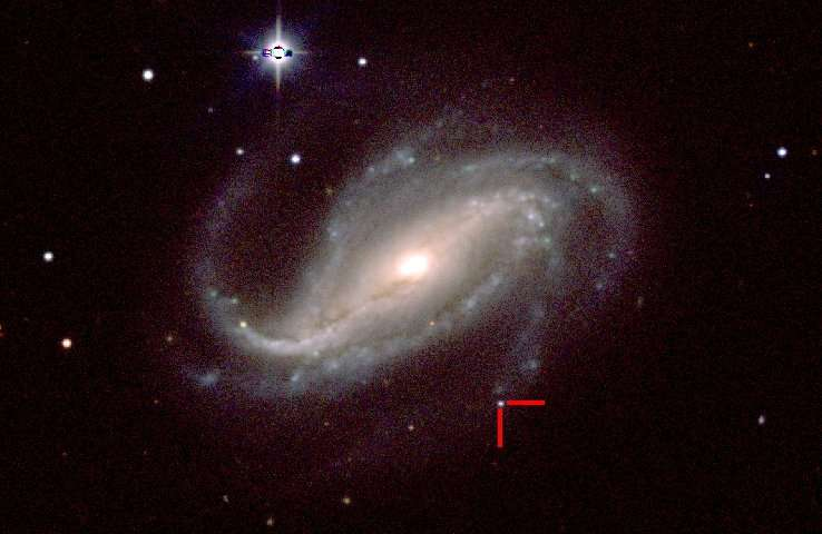 Amateur astronomer captures rare first light from massive exploding star