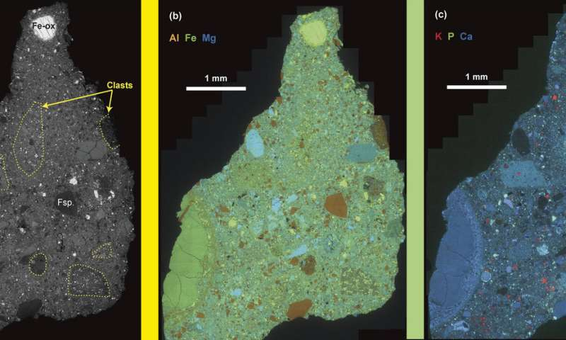 Ancient meteorite tells tales of Mars topography