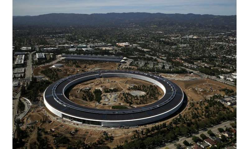 """Apple, which last year opened its """"spaceship"""" headquarters in California, has announced plans for new facilities and j"""
