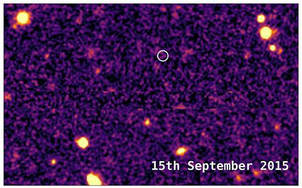 Astronomers reveal secrets of most distant supernova ever detected