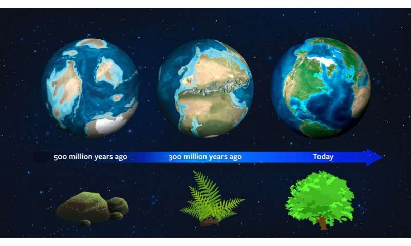 Astronomers use Earth's natural history as guide to spot vegetation on new worlds