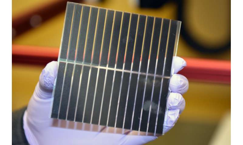 Bright future for solar cell technology