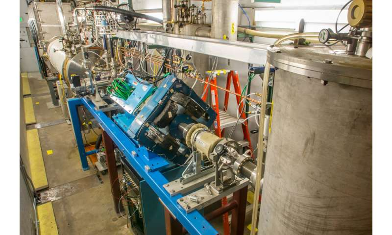 Captured electrons excite nuclei to higher energy states