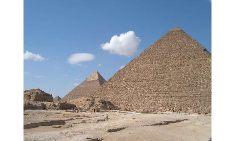 Cheops' pyramid: Is there an iron throne in the newly discovered chamber?