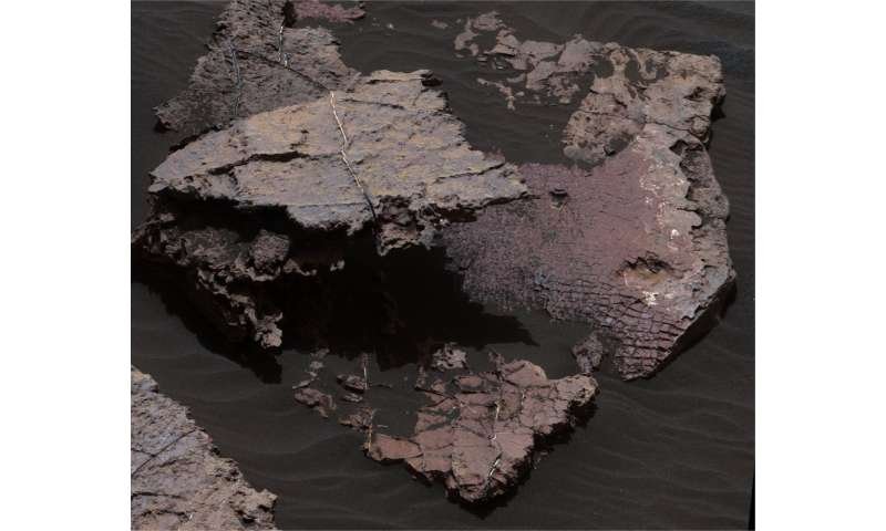Clear as mud: Desiccation cracks help reveal the shape of water on Mars