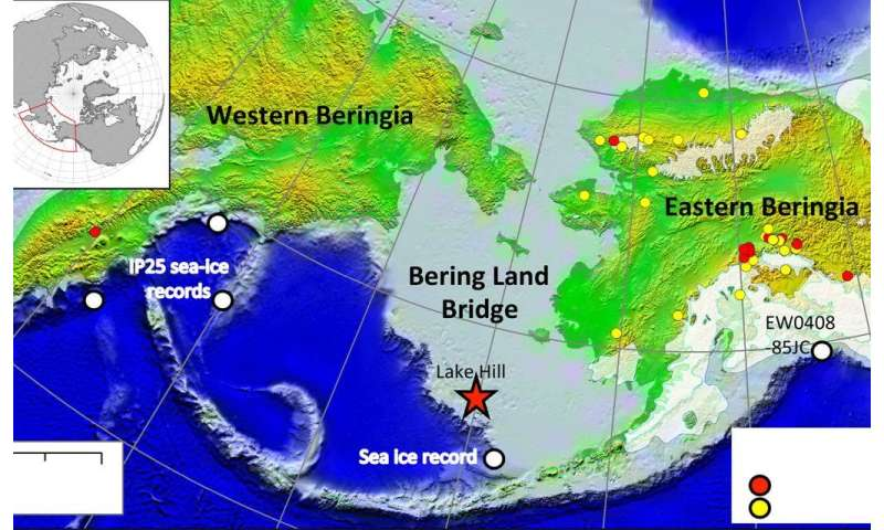 Climate shift may have spurred migration across now submerged land bridge