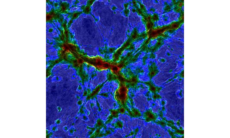 Cosmologists create largest simulation of galaxy formation, break their own record