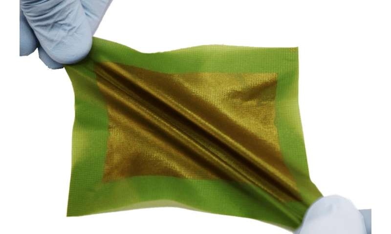 Designing a 'solar tarp,' a foldable, packable way to generate power from the sun