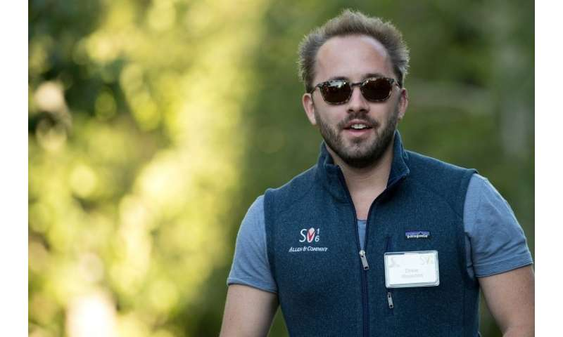 Drew Houston, founder and chief executive officer of Dropbox, which aims to raise nearly $750 million through an initial public