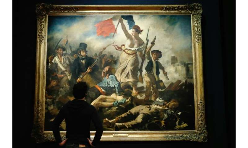 """Facebook apologised in March for temporarily removing an advert featuring French artist Eugene Delacroix's famous work """"Lib"""