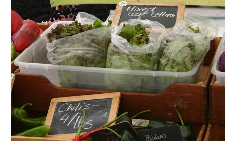 Farmers market vendors need training to improve food-safety practices