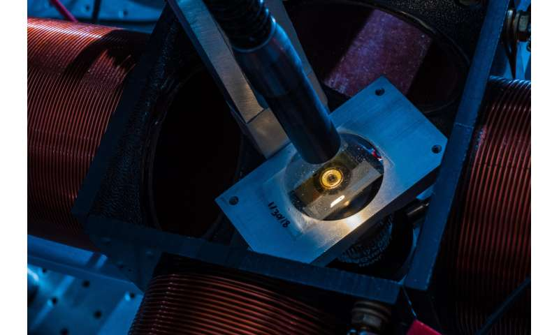 Fast-spinning spheres show nanoscale systems' secrets